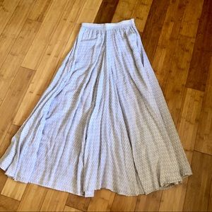 Acacia swimwear tencel maxi skirt in S